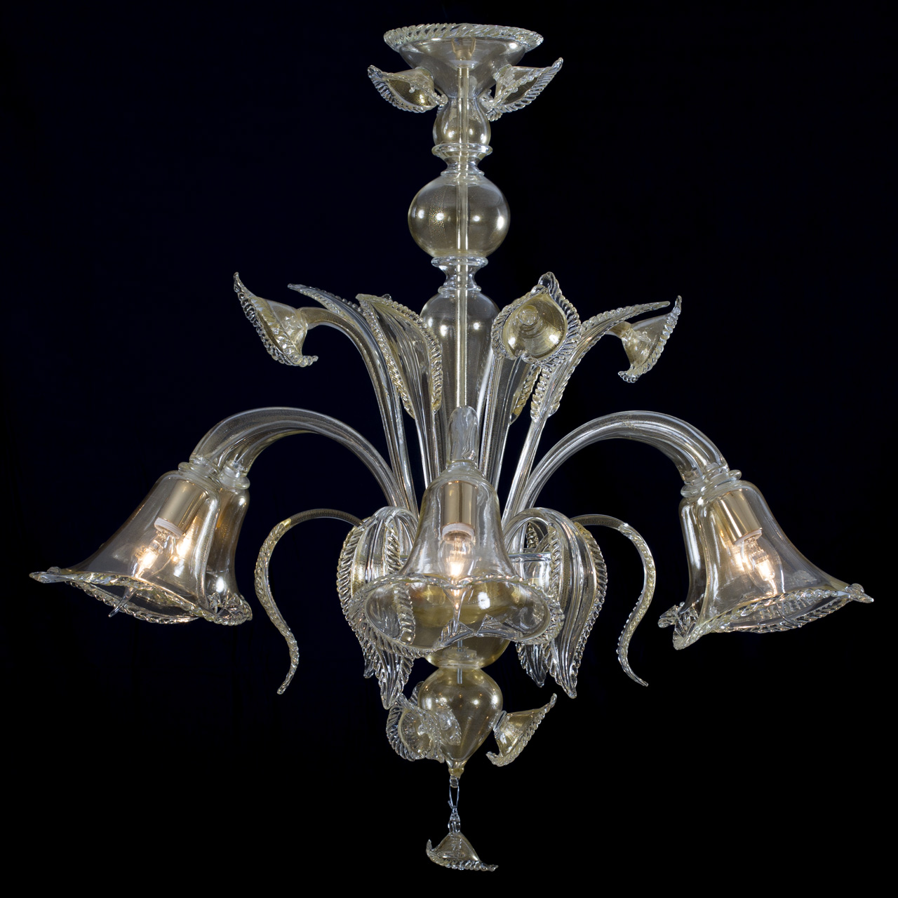 Fornace49 murano glass chandelier